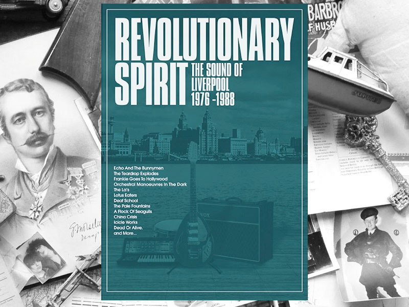 Various : Revolutionary Spirit – The Sound Of Liverpool 1976-1988 : 5xCD