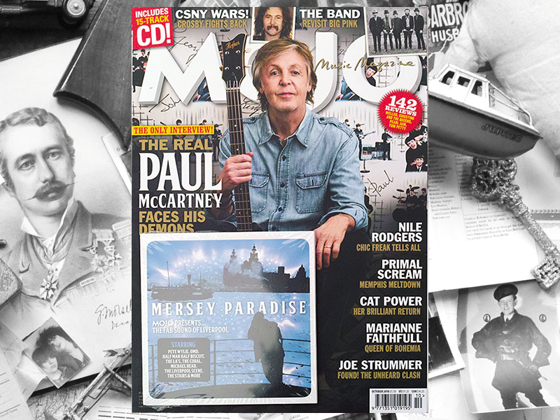 Mojo Magazine - Various CD - Liquid Mercury